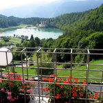 Vista laghetto di Lavarone