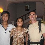 Kim Lien et son fils