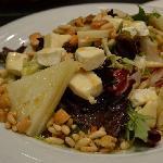 Una salada de quesos maravillosa