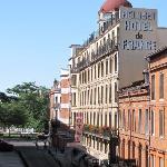 Vue de l'Hotel de France rue d'Austerlitz