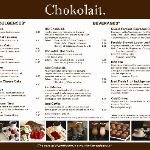 New Chokolait Menu