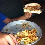 Chopped pork sandwich. Deelish!