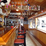 Bar area-ck out all our sports memorabilia