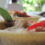 Green Curry Quiche