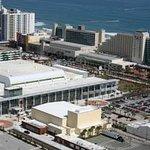 Aerial view of Ocean Center