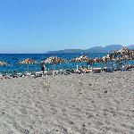 You are steps away from Mavrovouni 5 Km long sandy beach!