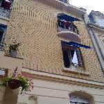Hotel Azure front elevation