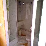 Small ensuite shower room