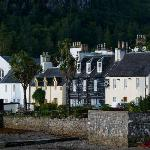 Plockton Hotel from the bay