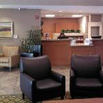 New hotel decor in lobby