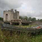 Bunratty Castle from across the river