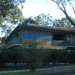 Motel from the outside