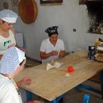 The making of stuffed pasta