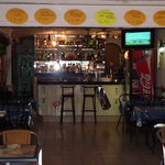 bar and seating