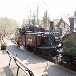 Train at Tan y Bwlch