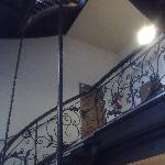 The Victorian staircase