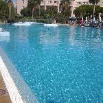 Gran piscina.para nosotros solos.