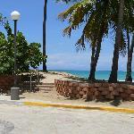 Isla Verde Beach access