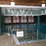La seconda piscina interna dell'hotel