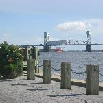 The waterfront w/in walking distance