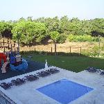 childreen pool and playground
