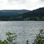 View of Llyn Tegid (Bala Lake) from the train