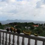 huge sea view balcony
