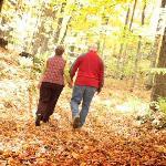 Fall hiking, biking, golf