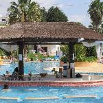 Pool bar at Pool 2 (biggest pool)
