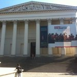 Front of museum - August 2011