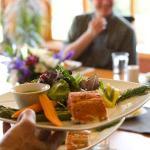 Delicious gourmet spa cuisine