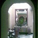 central patio ground floor