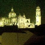 jerez cathedral seen from roof terrace