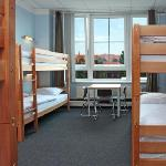 dorm with 6 beds