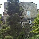 Veduta esterna del Castello - parte posteriore
