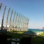 seaside dinner place