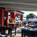 terrasse et bar extérieur