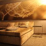 Fanatastic Suite - gemütliches großes Schlafcouch im Wohnzimmer