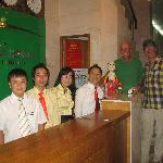 Viet, his staff and happy customers