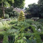 Our 17thC Style Knot Garden. Image courtesy of Sophie Mutevelian