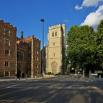We are located next to Lambeth Palace just across the Thames from the Houses of Parliament