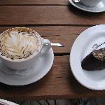 coffee break, cafe Sienna nier Alberta street