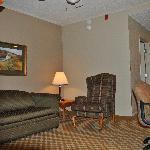 Suite Sitting Area.  V