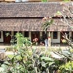 Seeing Bali Diva hotel's verandah from Pesona Beach inn's balcony