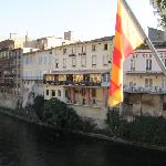 Hotel Lons, from the river