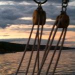Sunset through the rigging