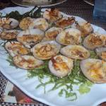 Yummy Clams caught with and cooked by Chef Roberto!
