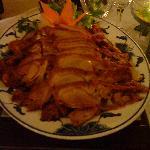 Ente mit 8 köstlichkeiten