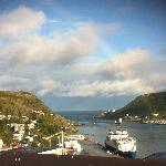 View of the Narrows from our hotel room