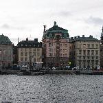 Stockholm dock on trip to Vasa